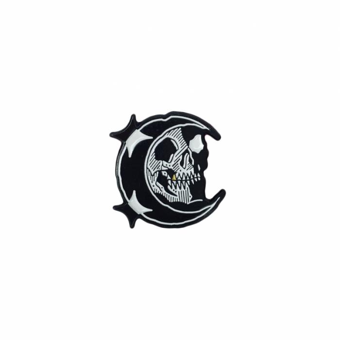 Midnight Moon Pin - Longlive the Swarm - $9