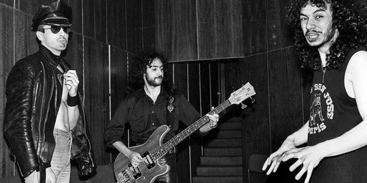 The SHAH band, 1987.